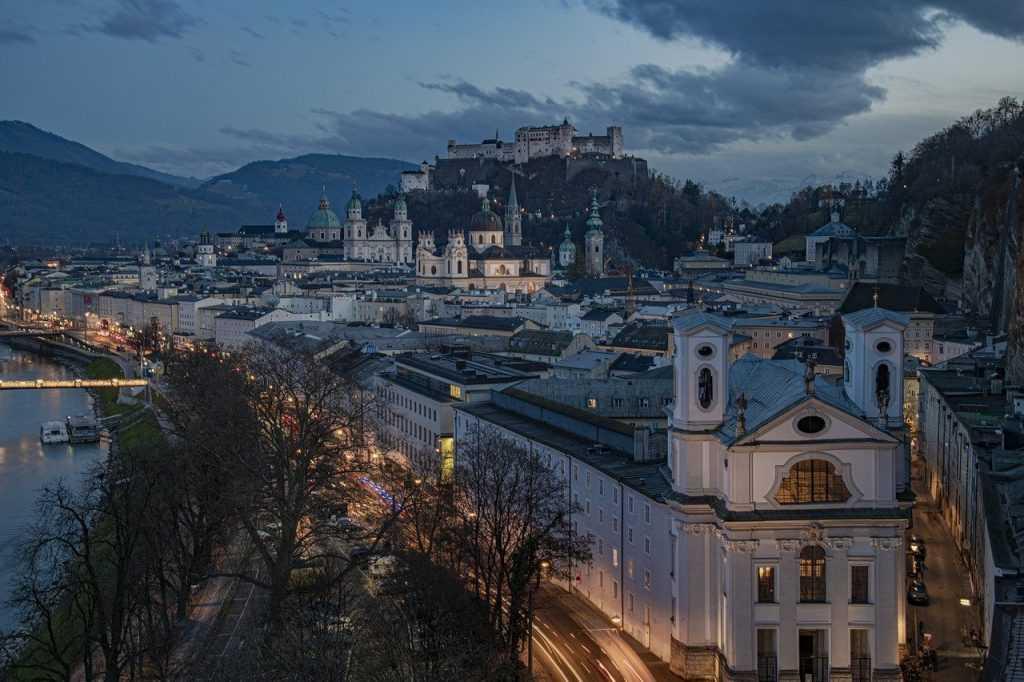 Salzburg Altstadt, a UNESCO World Heritage Site